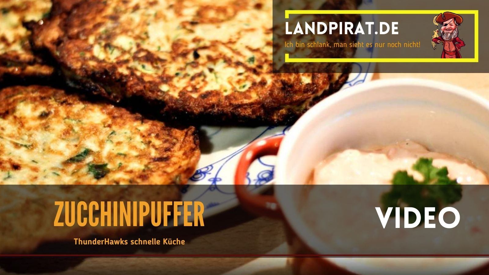 Read more about the article ThunderHawks Schnelle Küche – Zucchinipuffer