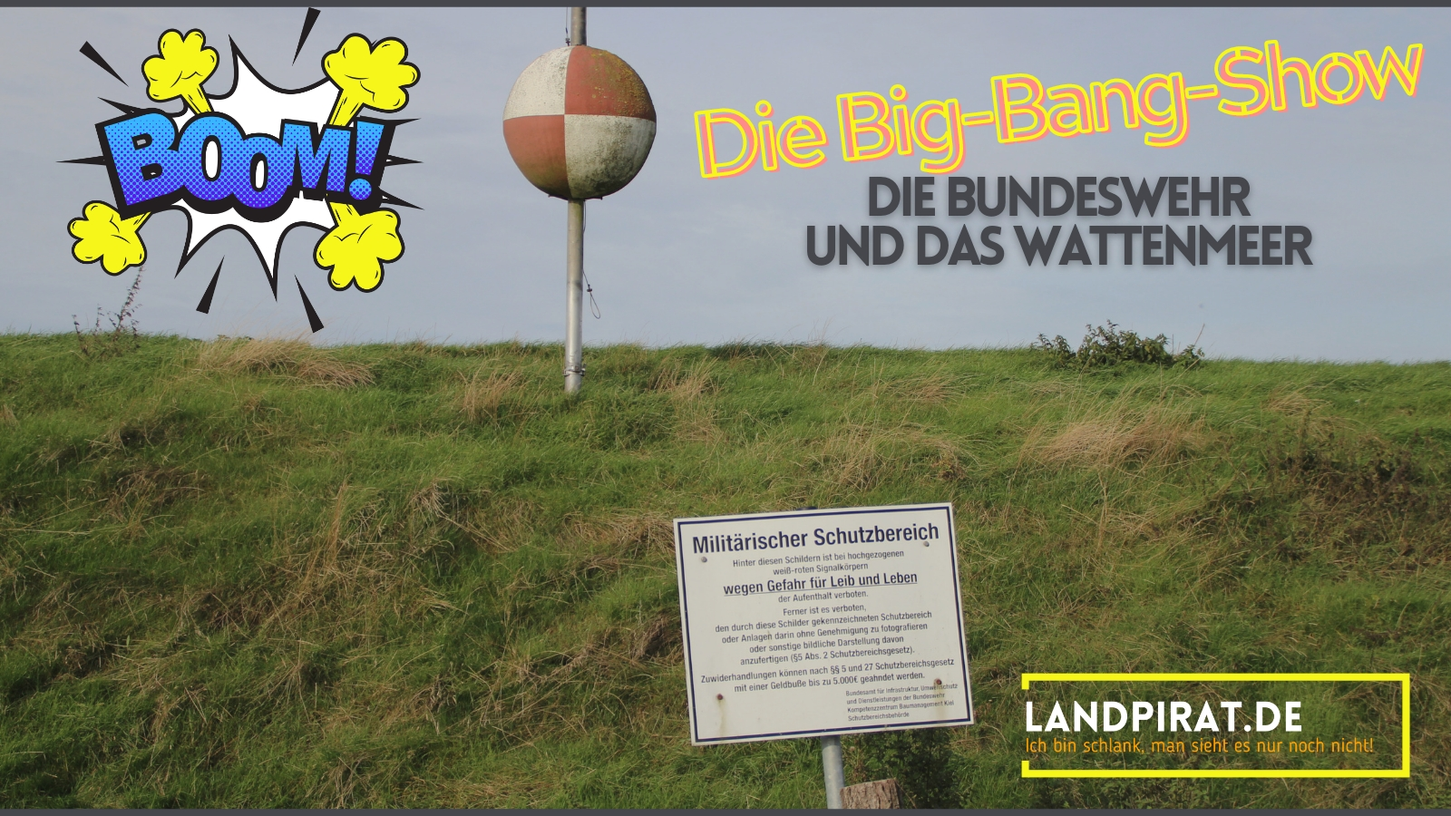 Read more about the article Die Big-Bang-Show – Die Bundeswehr und das Wattenmeer