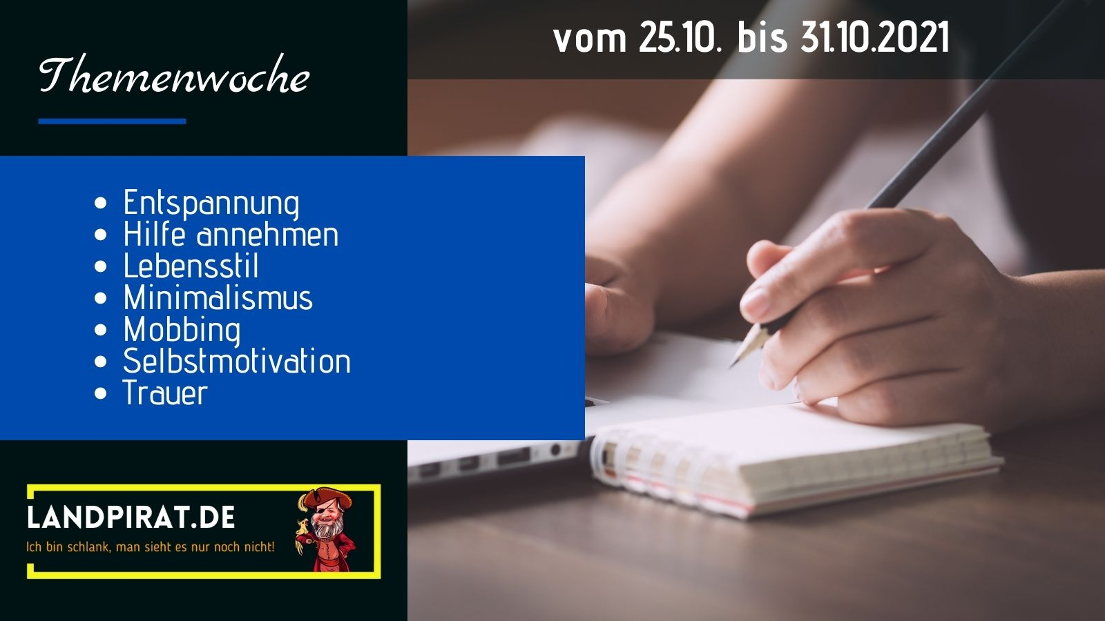 Read more about the article Themenwoche vom 25.10. bis 31.10.2021