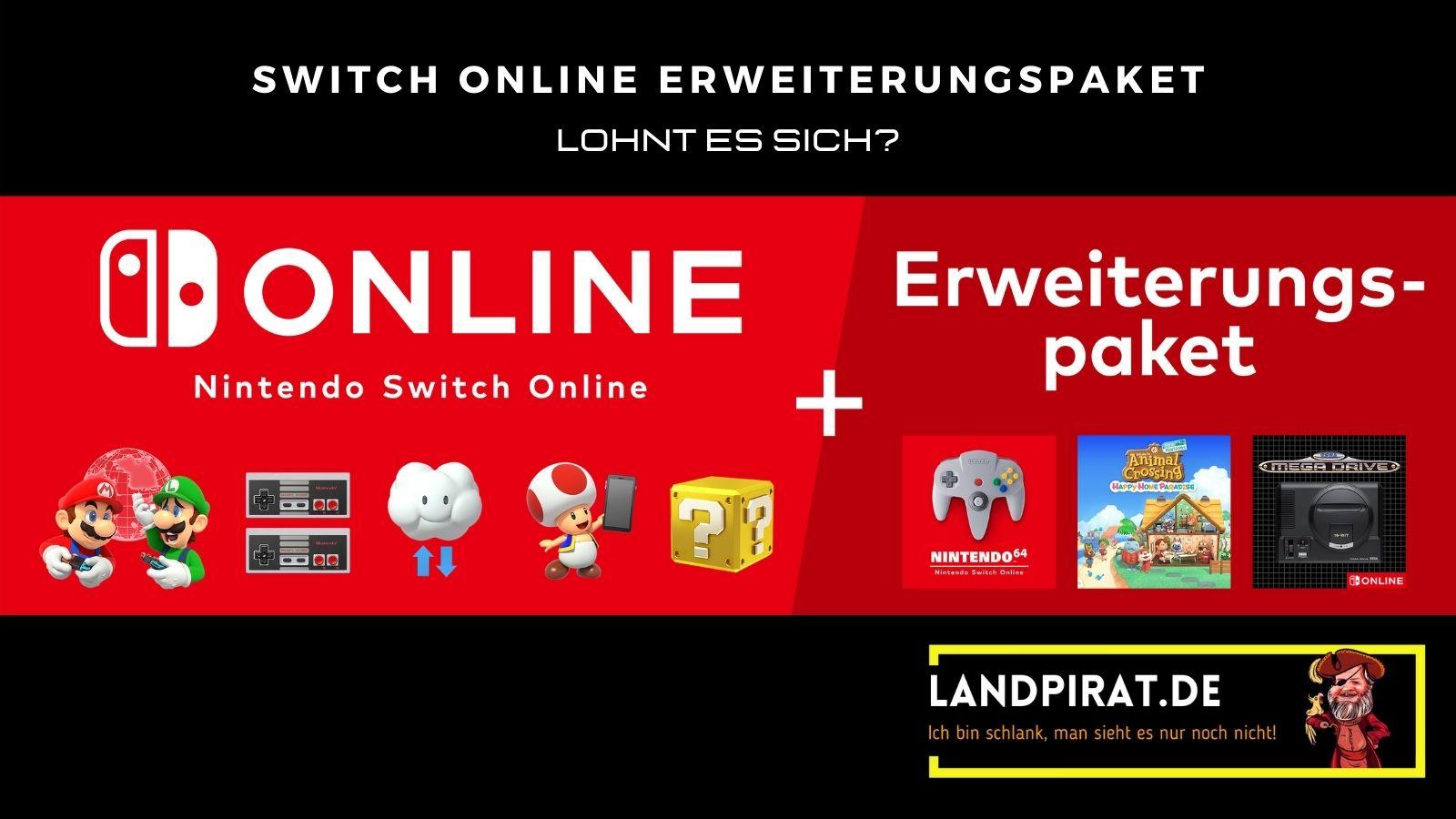 Read more about the article Nintendo Switch Online Erweiterungspaket – Lohnt es sich?!?